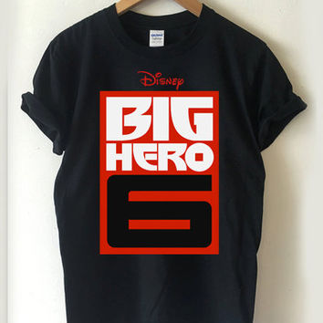 Big Hero 6 logo T-shirt Men, Women Youth and Toddler