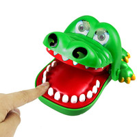 Large Fun Toys Crocodile Dentist Bite Finger Game Funny Novetly Crocodile Toy for Kids Gift