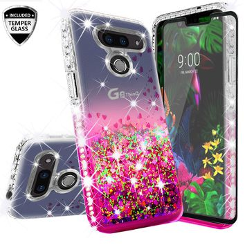 For Samsung Galaxy S9 S9 Plus S9 Girls Women Liquid Quicksand Bling Cute Clear Soft Tpu Silicone Case Back Cover 100% High Quality Materials