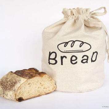 BREAD Harvest Haversack Handmade reusable eco by HarvestHaversack