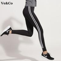 Women Running Pants 2017 Autumn Gym Fitness Yoga Leggings Pant Polyester Quick-Drying Tights For Women Fitness Yoga Pants
