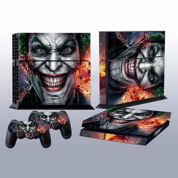 Joker Vinyl skinSticker  PS4