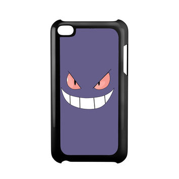 Gengar Face Pokemon iPod Touch 4 Case