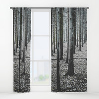 Coma forest Window Curtains by happymelvin