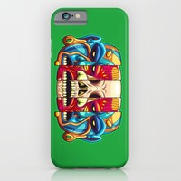 Warrior Unmasked iPhone & iPod Case by Artistic Dyslexia | Society6