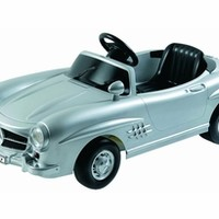 Luxury Toys - Luxury Toy Cars For Kids - Mercedes Benz 300Sl W198 6v Silver-LollipopMoon.com only $469.00 - Luxury Toys