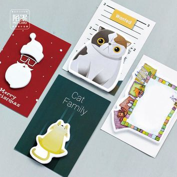 Funny Series Kawaii Sticky Notes Post It Memo Pad School Supplies Planner Stickers Paper Bookmarks Cute Stationery Office Supply