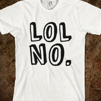 LOL NO. T-Shirt Black Art (IDA11BLK8H)