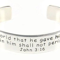 4030013 Matthew 19:26 Leather Wrap Cross Bracelet Scripture With God All Things Are Possible