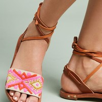 Beek Toucan Tie-Up Sandals