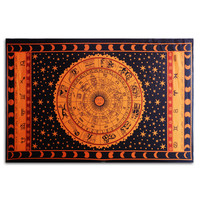 Large Tapestry Indian Mandala Wall Hanging