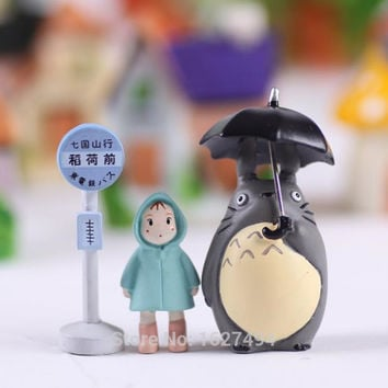 Studio Ghibli Toy My Neighbor Totoro Xiaomei Doll PVC Action Figure Hayao Miyazaki Japanese Anime Figures Figurines Kids Toys