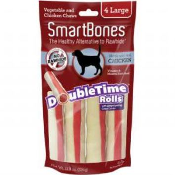 Smartbones DoubleTime Chews Chicken Large