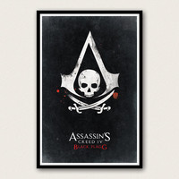 Assassin's Creed Black Flag Poster - Video Game Poster