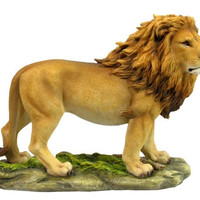 Standing Lion Statue - 8363