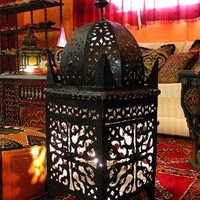 Romance Lamp, Lamps, Lamps from Morocco at Moroccan Caravan