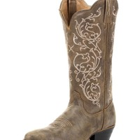 Women's Western R Toe 12'' Boot