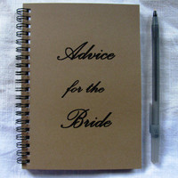 Advice for the Bride - 5 x 7 journal