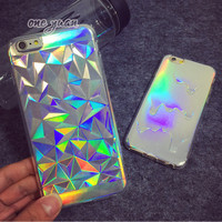 iPhone Holographic 3D Bling Laser Case