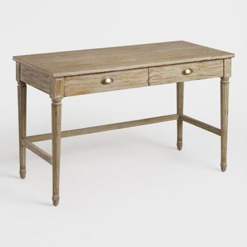 Distressed Wood Paige Desk