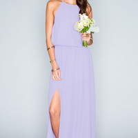 Show Me Your mumu Heather Halter Dress ~ Lilac