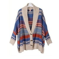 Indian Batwing Knits Hot Style Cardigan Sweater