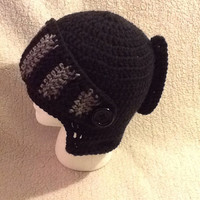 Roman Soldier Hemet - crochet - any size - made to order