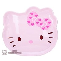 Hello Kitty Diecut Tray: Pink Face with Ribbon $16.99