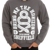 Bring Me The Horizon Snake Crew Pullover