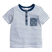 T-shirt with Buttons - from H&M