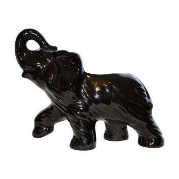 Pre-owned Van Briggle Pottery Elephant Vase High Gloss