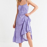 Auguste The Label Daphne Tiered Midi Dress | Urban Outfitters
