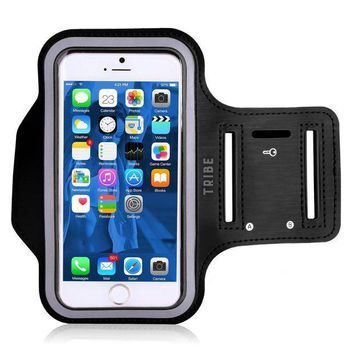 Water Resistant Cell Phone Armband: 5.2 Inch Case For Iphone 8 7 6 6s Se 5 5c 5s And Galaxy S5 Google Pixel   Adjustable Reflective Velcro Workout Band Key Holder & Screen Protector