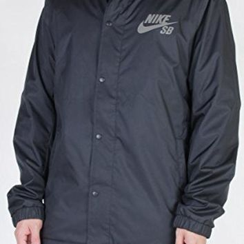 DCCK8BW Nike SB Mens Assistant Coaches Jacket (Small Black)