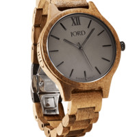 Frankie - Koa & Ash - Designer Wood Watch by JORD