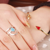 Vintage Ethnic Ring AnaeCadeau Gift-181
