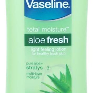 Vaseline(R) Aloe Fresh Hydrating Body Lotion 10 oz Value Pack - 6 UNITS
