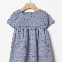 Gap Baby Swiss Dot Dress