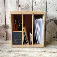Poste Box - Desk Organizer