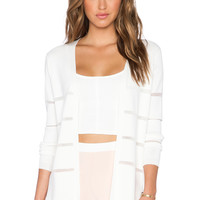 ELLIATT Divine Cardigan in White