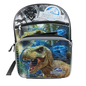 Jurassic World Backpack & Lunch Bag Set - Kids