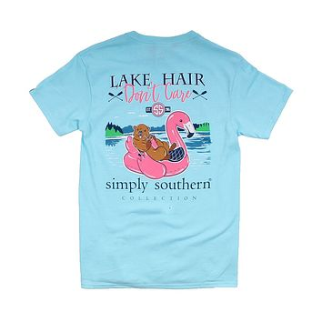 Preppy Lake Float in Marine by Simply Southern