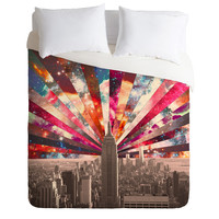 Bianca Green Superstar New York Duvet Cover