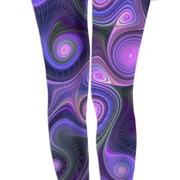 ROWL Purple Psych Leggings