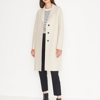 Harris Wharf London Pressed Wool Overcoat | Bird Brooklyn