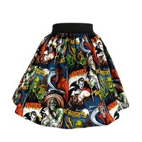 Hemet Classic Monsters Full Swing Skirt