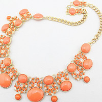 New Arrival Gift Stylish Shiny Jewelry Accessory Korean Gemstone Necklace [6056911681]