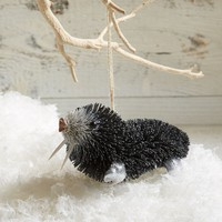 Bottle Brush Ornament - Walrus