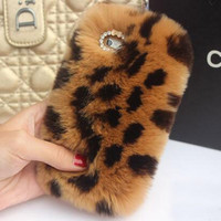 Leopard Fur Iphone 5 5s SE 5c 6 6s plus Case