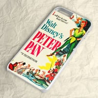 Disney Peter Pan Poster iPhone 6 Case